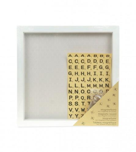 KOOISTRA Ploča magnetna sa stikerima i magnetima 40x40cm