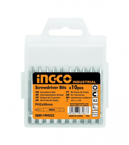 INGCO TOOLS Bitovi S2 PH2,50mm SDB11PH223